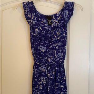 Xs blue jersey dress